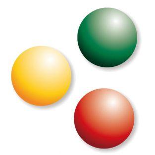 3 Farben auf Glasbasis mit...