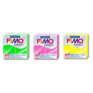 3 neon effect polymer pastes -...