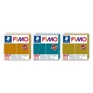 3 leather effect polymer pastes -...