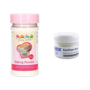 Gomma xanthan in polvere 20 g +...