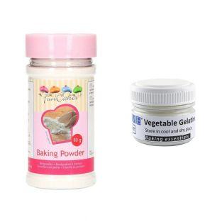Vegetable gelatin powder 20 g +...