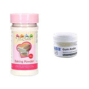 Gum arabic powder 20 g + baking...