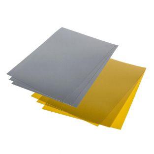 Crazy plastic 14 metallic sheets -...