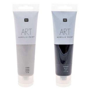 2 tubes de peinture acrylique 100 ml...