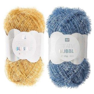 2 balls of DIY sponge yarn -...