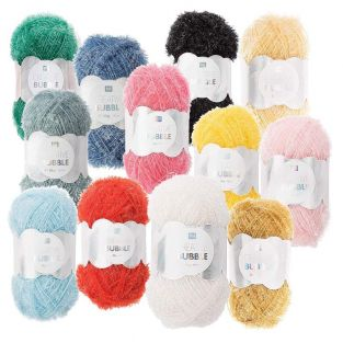 12 balls of DIY sponge yarn -...