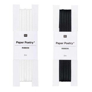 2 cintas de raso 3 m - B&N