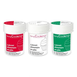 3 colorants alimentaires en pâte 20 g...