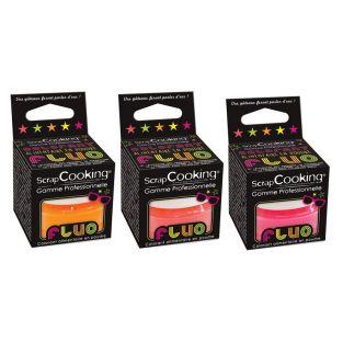 3 colorants alimentaires fluorescents...