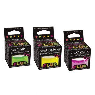 3 coloranti alimentari fluorescenti -...