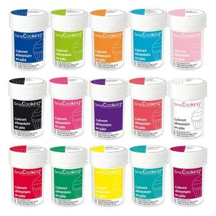 15 food coloring paste 20 g