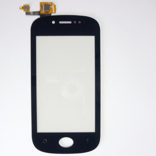 Touchscreen + adhesive for Wiko Sublim - black