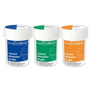 3 food coloring paste 20 g -...