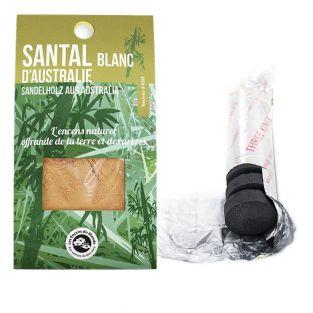 White sandalwood resin to burn + roll...