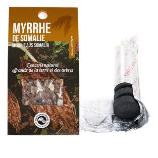 Résine de Myrrhe de Somalie à brûler...