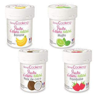 4 arômes alimentaires naturels en...