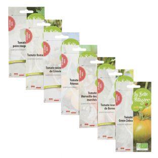 7 bolsitas de semillas para sembrar -...