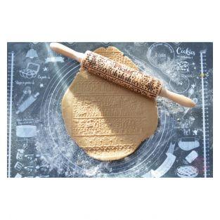 Rollo de pastelería con huellas 39 cm...