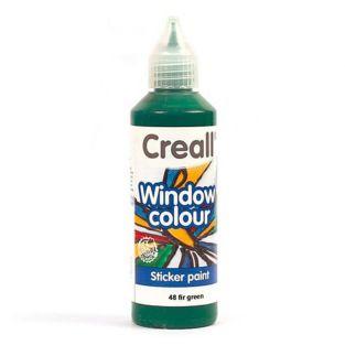 Glass paint Creall Glass- fir green