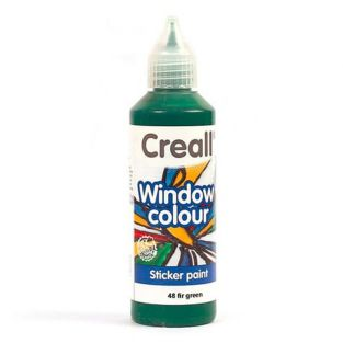 Vernice per vetro Creall Glass- verde...