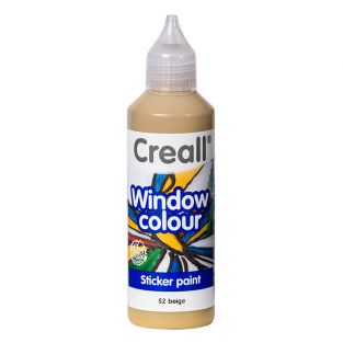 Vernice per vetro Creall Glass - beige