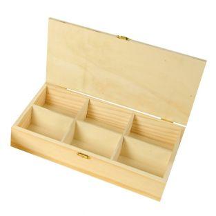 Boîte à thé et tisane - 30 x 16 x 6 cm
