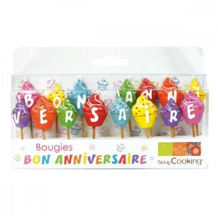 15 Happy Birthday candles