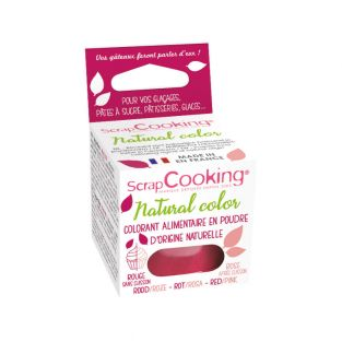 Colorant alimentaire naturel Rouge-rose