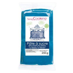 Zuckerteig - dunkelblau - 250 g