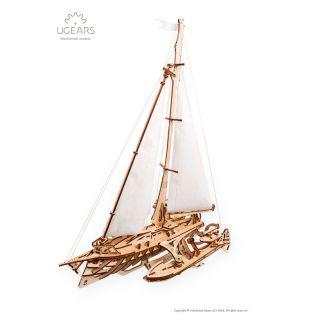 3D wooden model - Trimaran