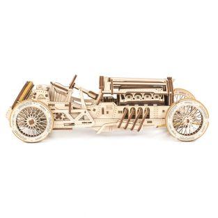 3D Wooden Model - Grand Prix Car