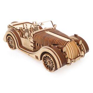 3D Wooden Model - Roadster