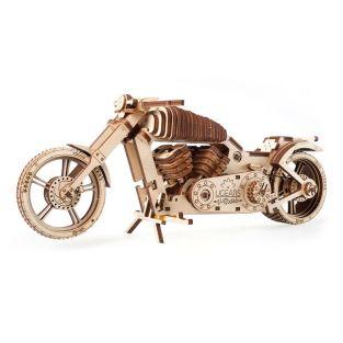 3D Wooden Model - Motorcycle