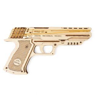 3D Wooden Model - Gun