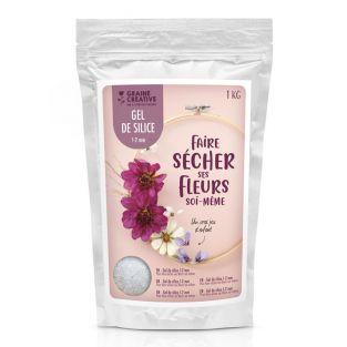 Gel de sílice para deshidratar flores...