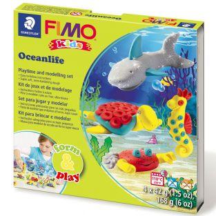 Caja de FIMO - vida subacuática