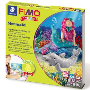 Polymer paste box - mermaid
