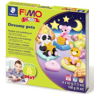 Caja de FIMO - animales de ensueño