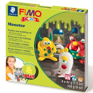 Caja de FIMO - monstruo