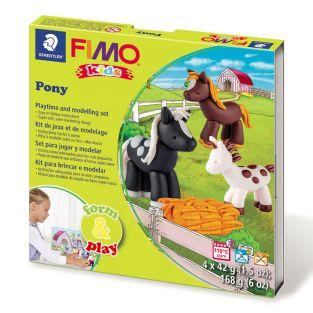 Scatola FIMO - Pony