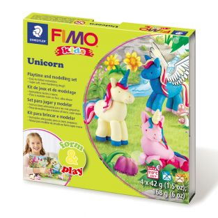 Scatola FIMO - unicorno