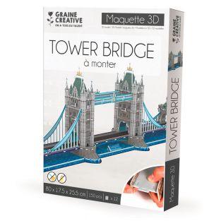 Model to build yourself Tower Bridge