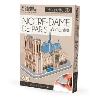 Modello per costruirsi Notre Dame de...