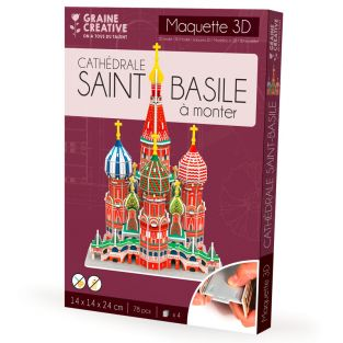 Model to build yourself St. Basil's...