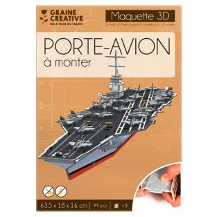 Model to build yourself Aircraft Carrier