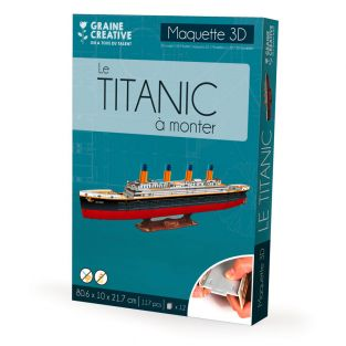 Modello per costruirsi il Titanic