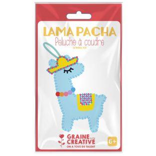 Peluche à coudre Lama