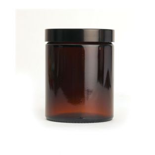 Pot en verre pommadier 180 ml