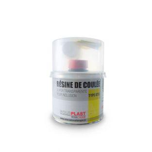 Transparent inclusion resin 1 kg