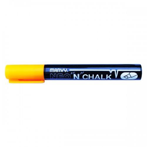 Marqueur-craie 6 mm - Orange